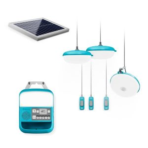 Portable Off-Grid Solar Lighting System